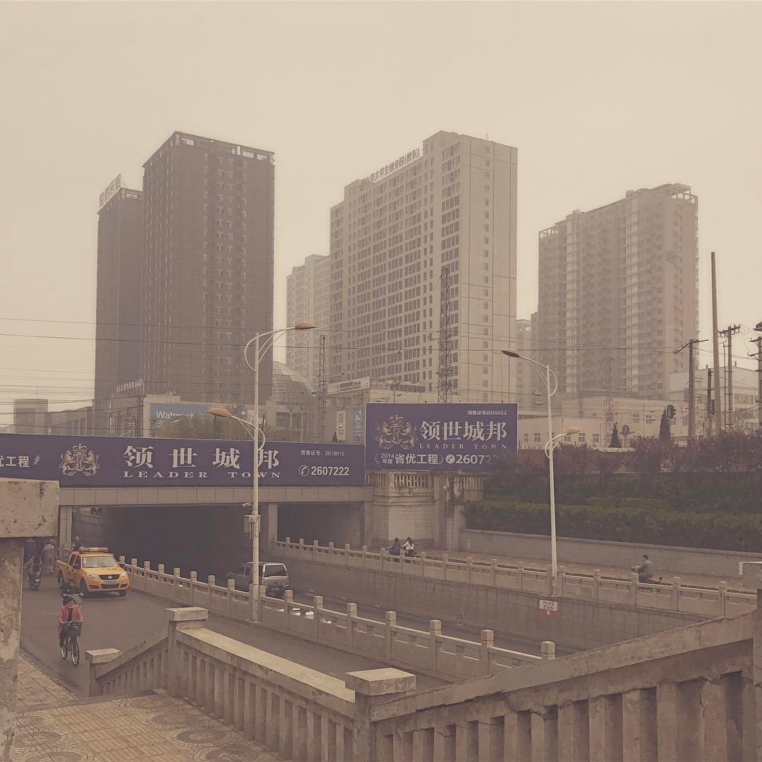 Getting smoggy with it. Today the air turned really bad. Air Quality Index 234. About 10 times max value.