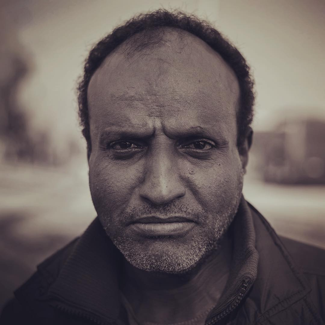 Ali Said is from Somalia. He was stuck on The border of Greece and Macedonia, wanting to get up to his wife and children in Denmark. Now he is in Athens being forces there by police. Read the reportage in @foljeton