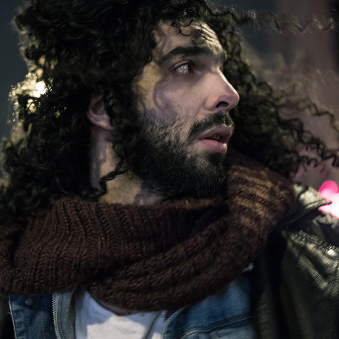 Egyptian spring musician Ramy Essam. Ramy fear for his Life because of his Music and fleed to Sweden. For @buzzfeednews