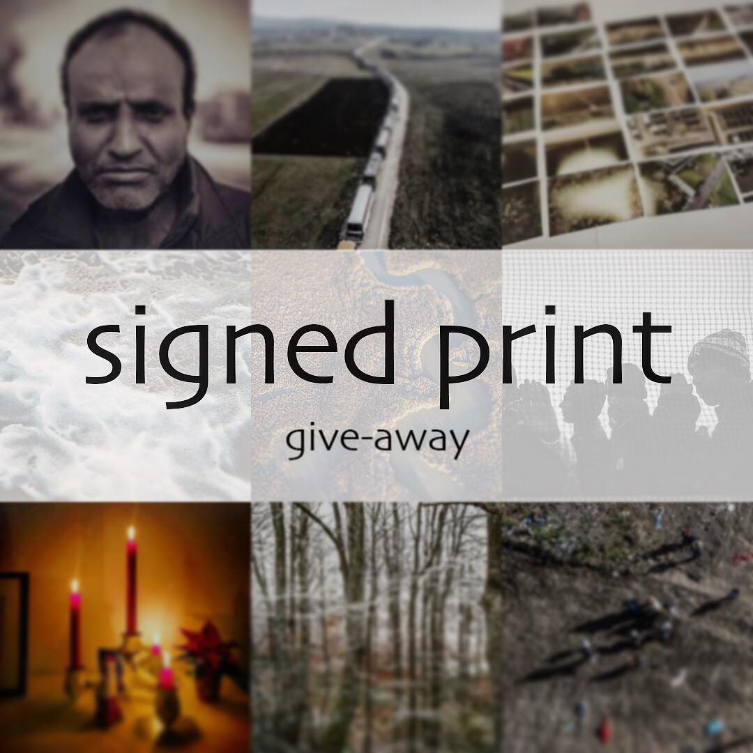 Last two days to get a chance for a free signed print! Comment where you Would place The print. Ends Sunday evening