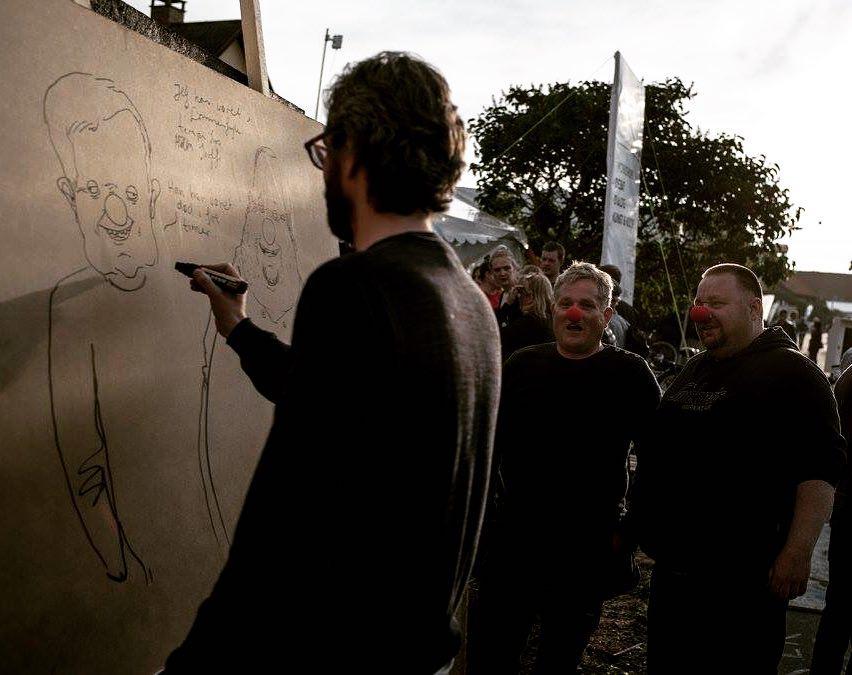@anders_morgenthaler portraits two guys at @demokratiscenen