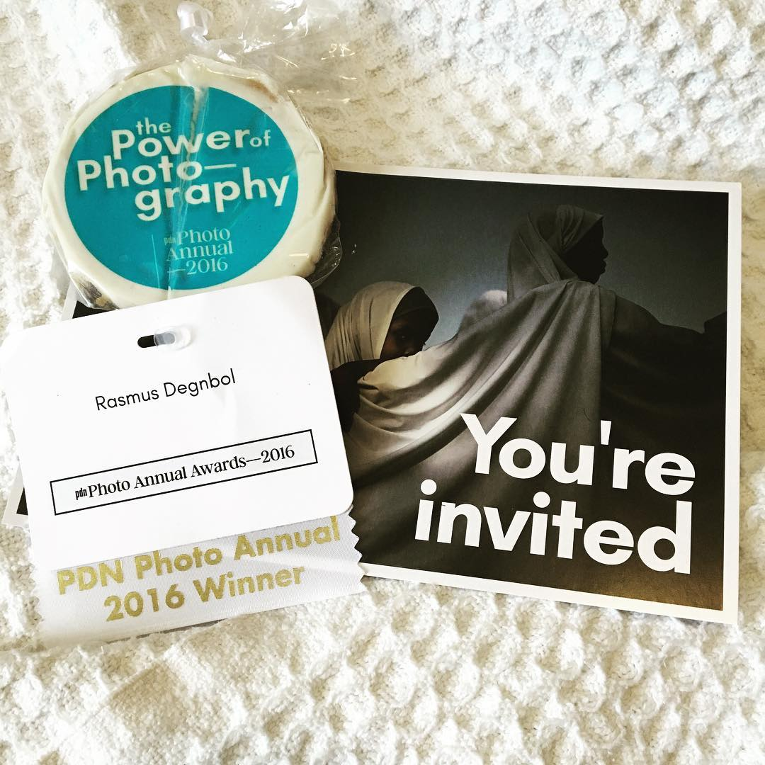 Had a great evening with @pdnonline at the Photo Annual 2016 party