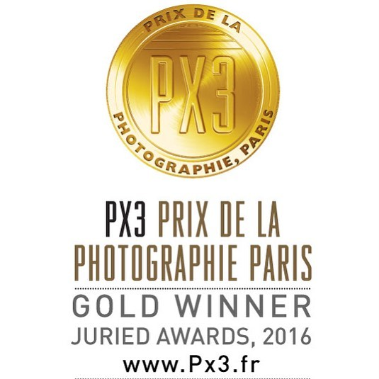 Happy to see my Project on Europes Borders receive a first prize/Gold in PX3 Prix Paris. @px3