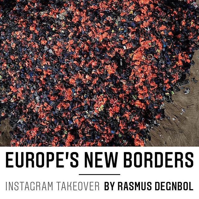 My project is featured over at the lovely people from @newrepublic in the US. Be sure to follow them as I show more from my project on Europe's New Borders.