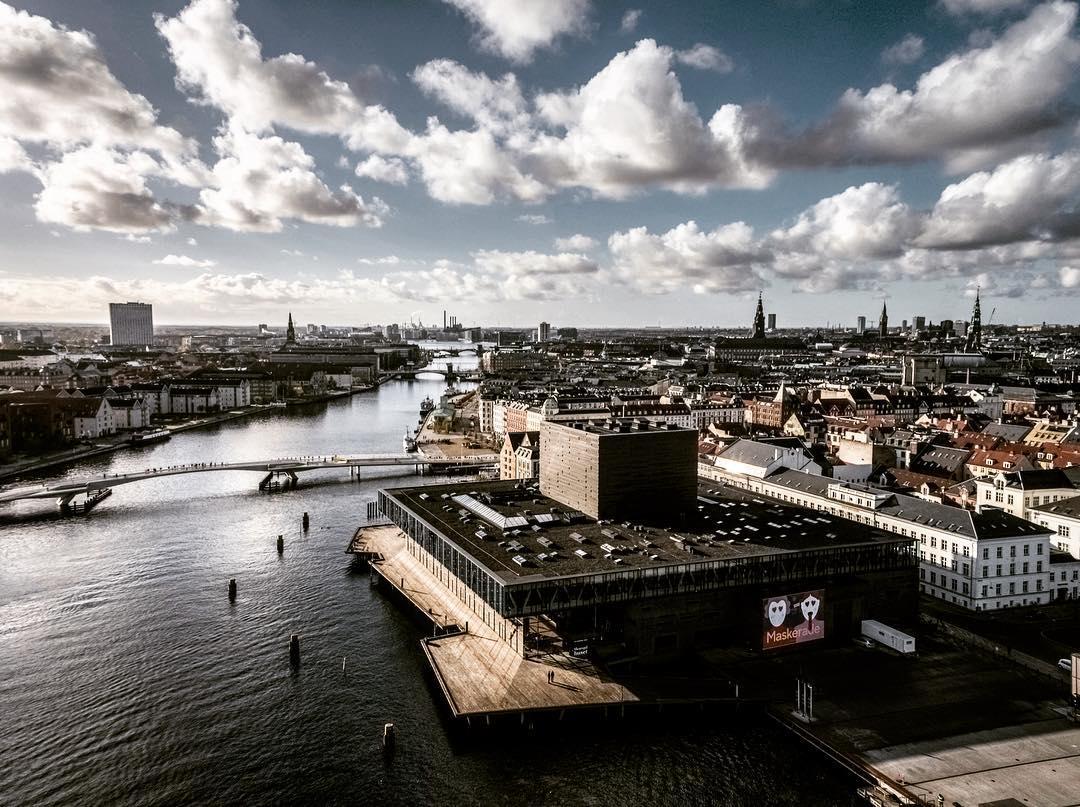 Beautiful crisp day in Copenhagen
